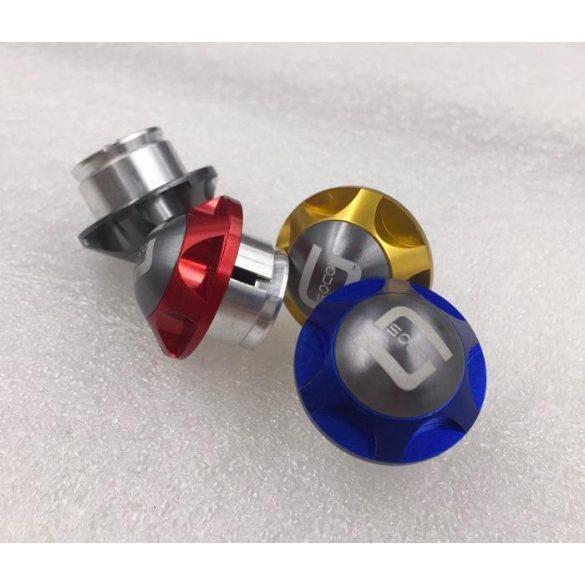 Végzáró kupak CNC alu / PÁR / több szín